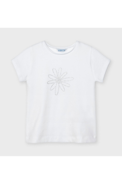 Mayoral White Daisy Tee - Product List Image