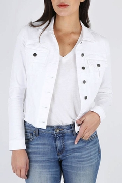 Shoptiques Product: White Denim Jacket