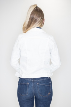 C'Est Toi White Denim Jacket - Alternate List Image