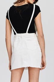 Emory Park White Denim Overall - Side cropped