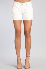Mavi Jeans White Denim Short - Product Mini Image