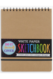 Ooly White DIY Cover Sketchbook - Product Mini Image
