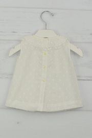 Granlei 1980 White Dot Dress - Front full body