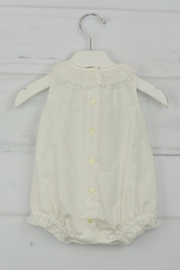 Granlei 1980 White Dots Onesie - Front full body