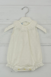 Granlei 1980 White Dots Onesie - Front cropped
