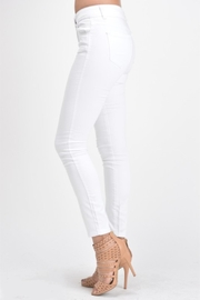 KanCan White Double-Button Denim - Side cropped