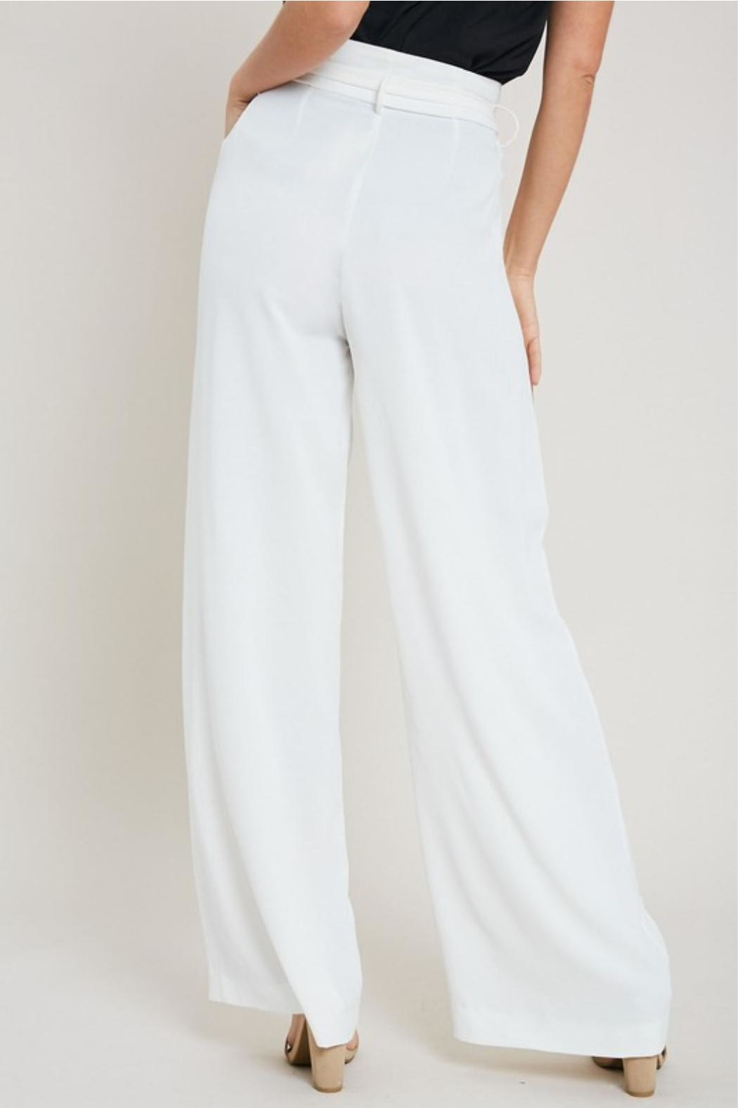 eesome White Dress Pants - Front Full Image