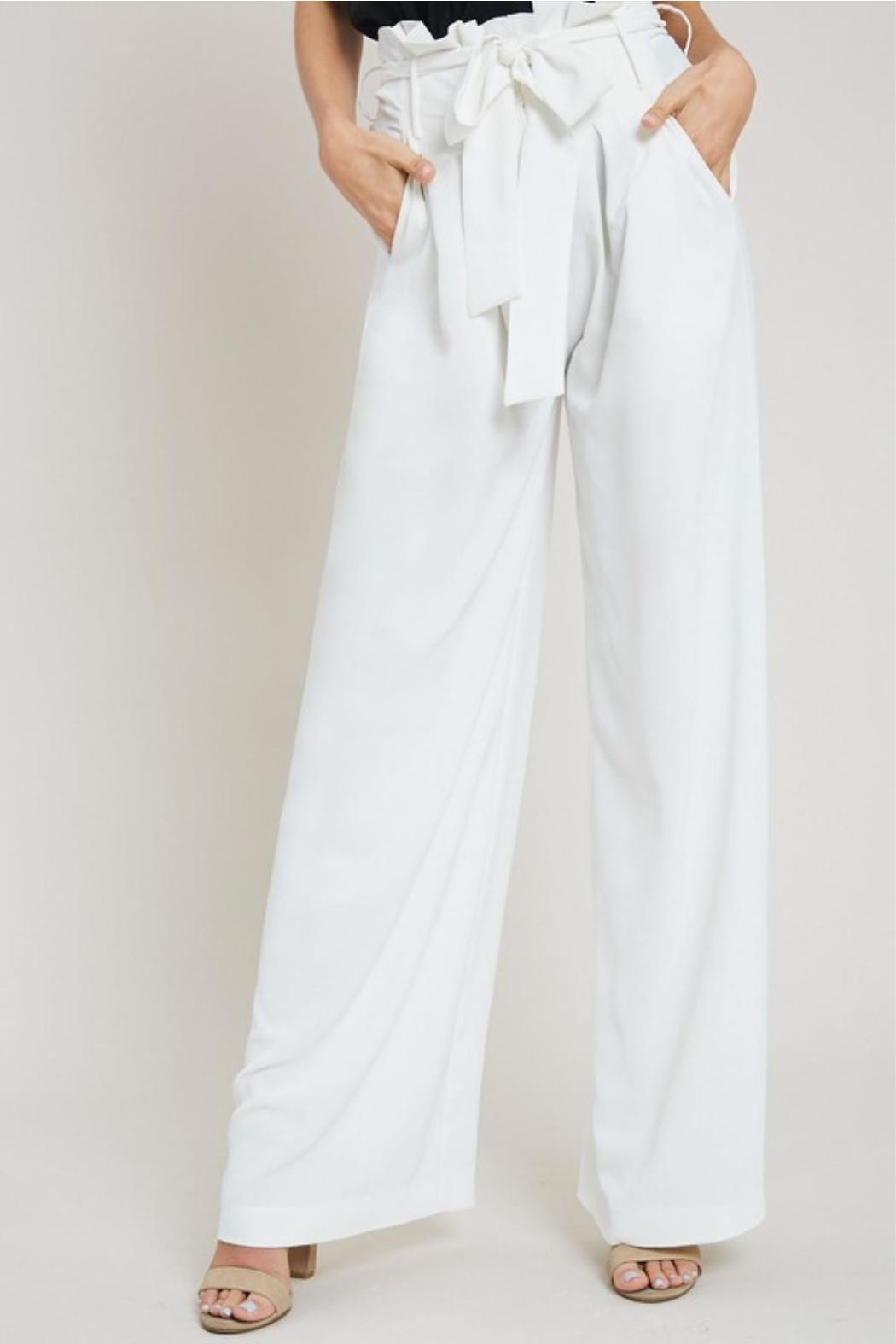 eesome White Dress Pants - Main Image