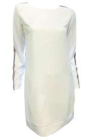 Maryley White Dress Stripes - Front cropped