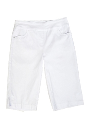 Tribal White Dressy Shorts - Product Mini Image