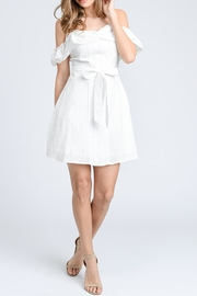storia White Eyelet Dress - Product Mini Image