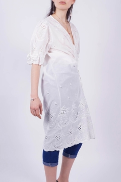 NU New York White Eyelet Dress - Alternate List Image