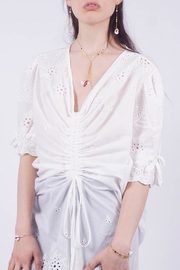 NU New York White Eyelet Dress - Product Mini Image