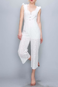 AAKAA White Eyelet Jumper - Alternate List Image