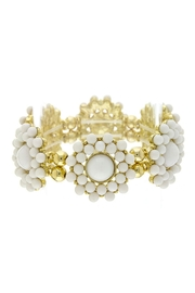 Wild Lilies Jewelry  White Floral Bracelet - Product Mini Image