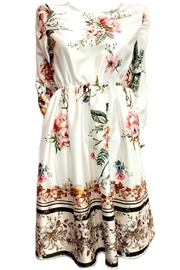 ANTONELLO SERIO White Floral Dress - Product Mini Image