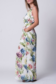 Wanderlux White Floral Maxi - Front full body
