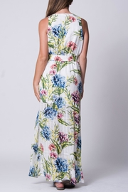 Wanderlux White Floral Maxi - Side cropped