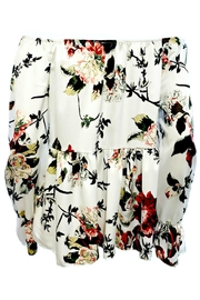 ANTONELLO SERIO White Floral Peasant - Front full body