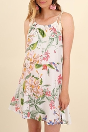 Umgee USA White Floral Sundress - Product Mini Image