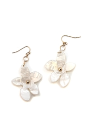 Wild Lilies Jewelry  White Flower Earrings - Product Mini Image