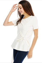 JJ'S Fairyland White Flower Top - Product Mini Image
