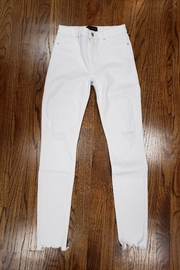 Black Orchid Denim White Gisele - Product Mini Image