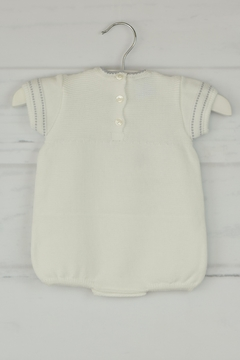 Granlei 1980 White & Gray Onesie - Alternate List Image