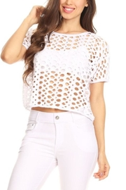 Yelete White Hole Top - Product Mini Image