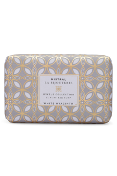 Mistral Soap WHITE HYACINTH LA BIJOUTERIE BAR SOAP - Alternate List Image