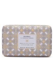 Mistral Soap WHITE HYACINTH LA BIJOUTERIE BAR SOAP - Product Mini Image