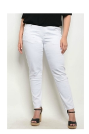 Sky White Jeans - Product Mini Image