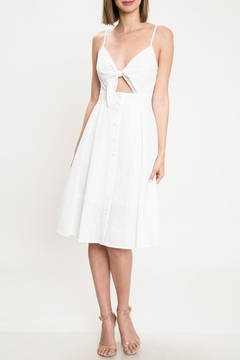 Shoptiques Product: White Knot Dress