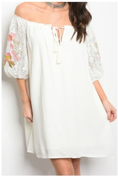 JWDesigns White Lace Dress - Product List Image