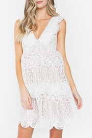 Sugarlips White Lace Dress - Product Mini Image