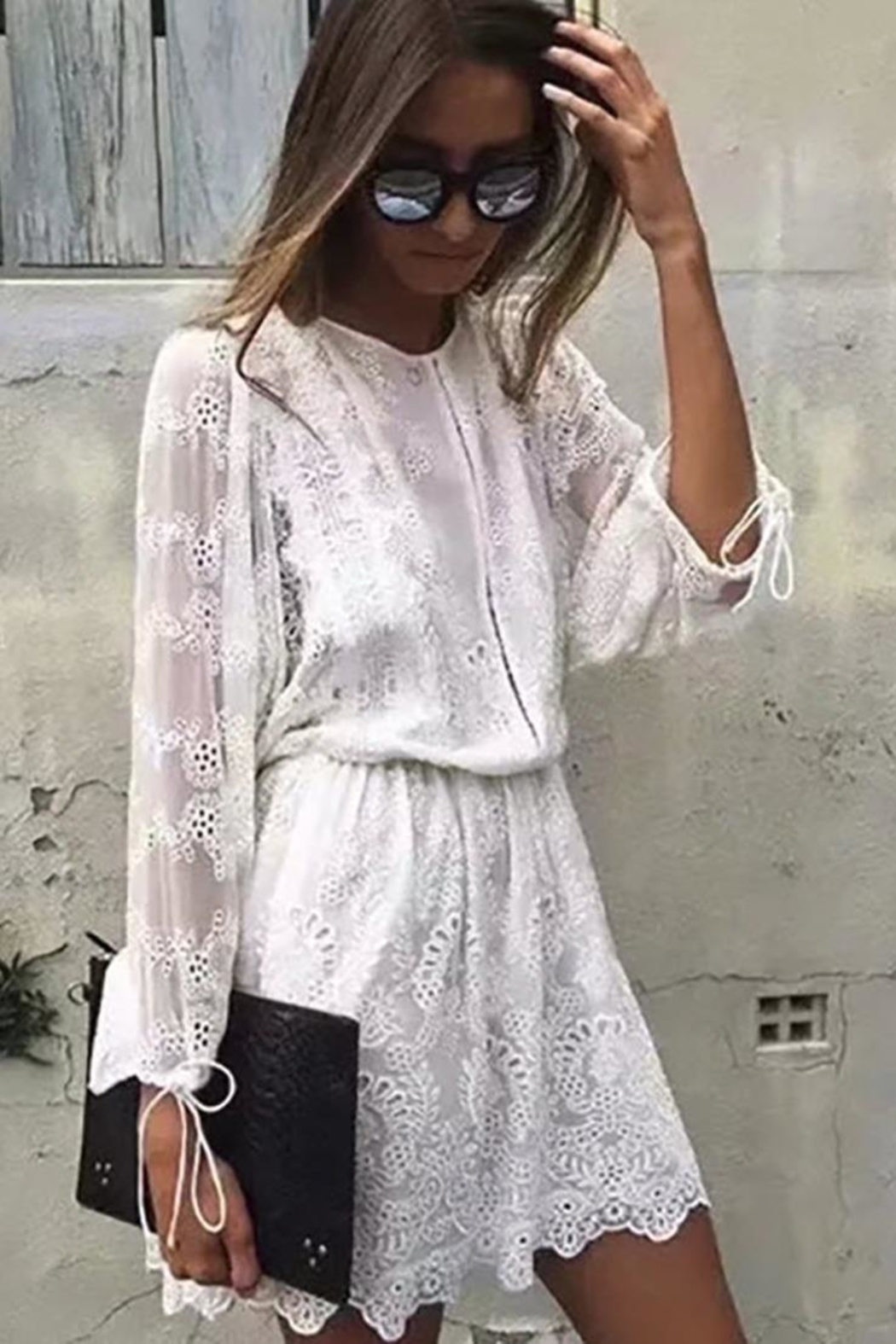 a335f352ca8 Racine White Lace Dress from California by Racine Love — Shoptiques