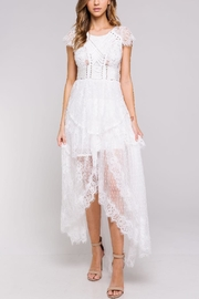 Blithe  White Lace Dress - Product Mini Image