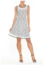 Elena Wang White Lace Fit/flare - Product Mini Image