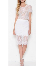 L'atiste White Lace Skirt Set - Product Mini Image