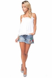 Dex White Lace Tank - Product Mini Image