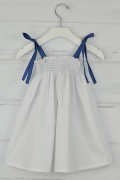 Granlei 1980 White & Lavender Dress - Product List Image