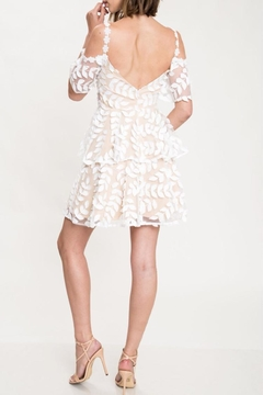 Latiste White Leaves Dress - Alternate List Image
