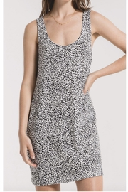 Z Supply  White Leopard Tank Dress - Product Mini Image