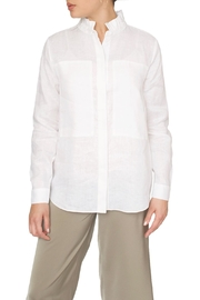 Just Female White Linen Shirt - Product Mini Image