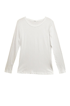 Femme White Long-Sleeve Top - Product List Image