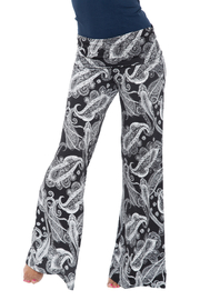 WhiteMark White Mark's Bandana Print Palazzo Pants - Product Mini Image