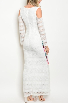 Dygarni White Floral Maxi Dress - Alternate List Image