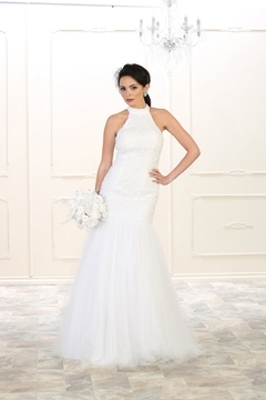 Shoptiques Product: White Mermaid Bridal Gown