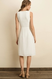 dress forum White Midi Dress - Side cropped