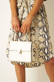 frontrow White Mini-Tote Bag - Side cropped